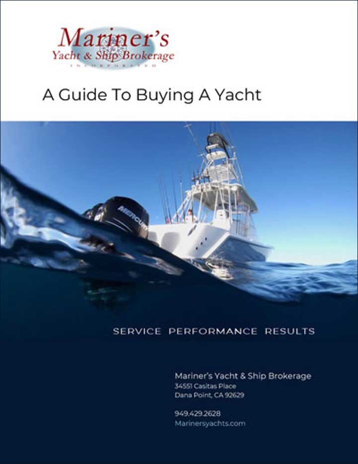 a guide to buying a yacht