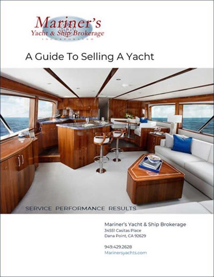 a guide to selling a yacht