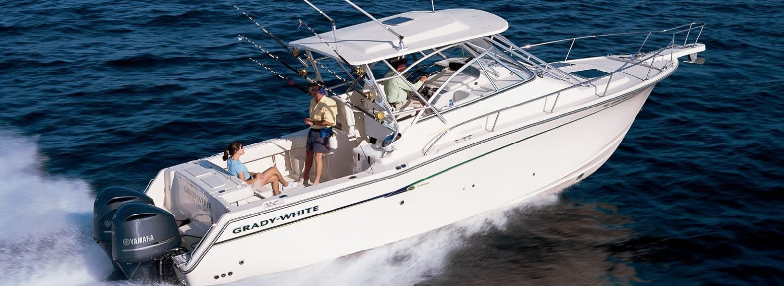 Grady White fishing boat